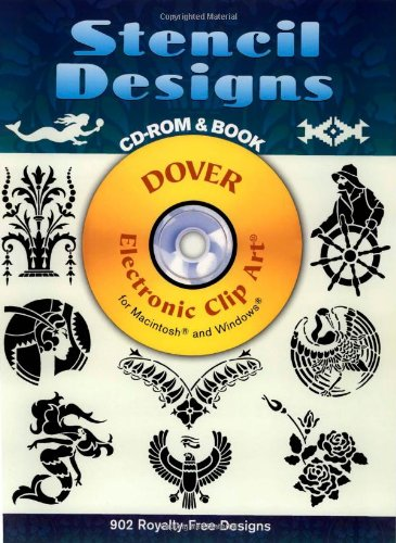 9780486999517: Stencil Designs (Dover Electronic Clip Art)
