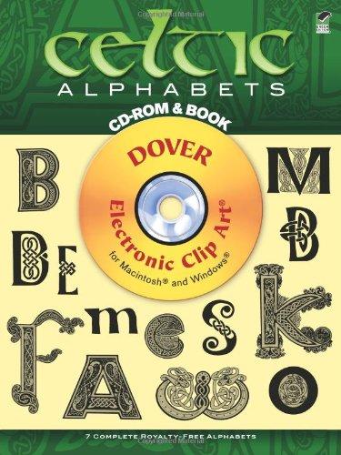 9780486999531: Celtic Alphabets (Book & CD-ROM) (Dover Electronic Clip Art)