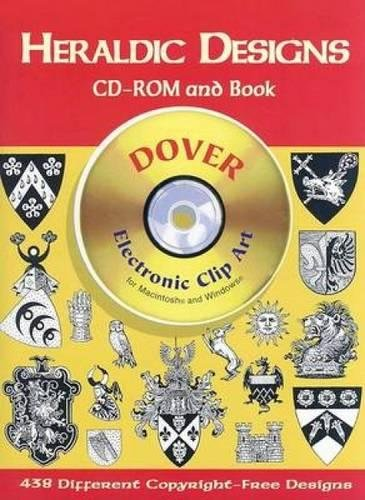 9780486999579: Heraldic Designs CD-ROM and Book (Dover Electronic Clip Art)