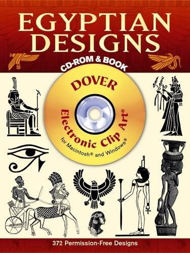 9780486999586: Egyptian Designs CD-ROM and Book (Dover Electronic Clip Art)