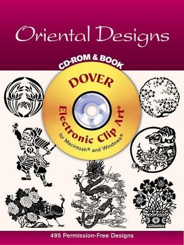 9780486999647: Oriental Designs CD-ROM and Book (Dover Electronic Clip Art)