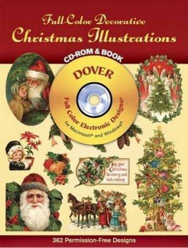 9780486999678: Full-Color Decorative Christmas Illustrations CD-ROM and Book (Dover Electronic Clip Art)