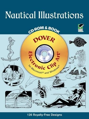 9780486999791: Nautical Illustrations (Dover Electronic Clip Art) (CD-ROM and Book)
