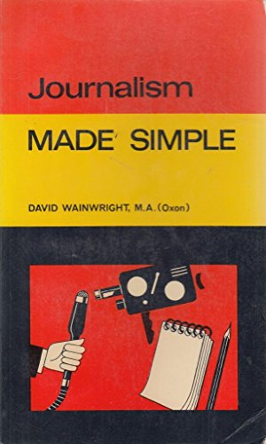 9780491002295: Journalism (Made Simple Books)