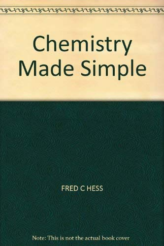 9780491006101: Chemistry Made Simple