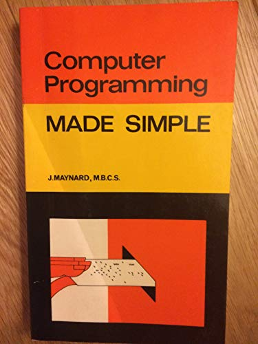 9780491008723: Computer Programming (Made Simple Books)