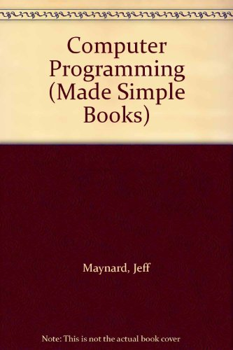9780491008822: Computer Programming (Made Simple Books)