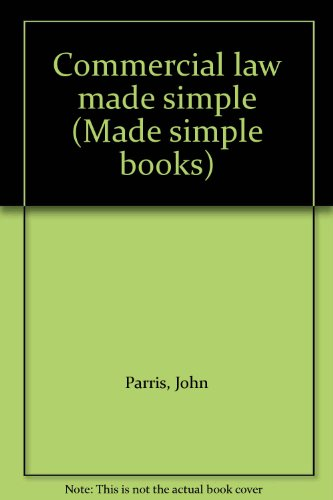 9780491009225: Commercial Law (Made Simple Books)