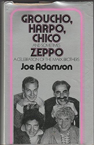 Groucho, Harpo, Chico - and sometimes Zeppo: Joe ADAMSON