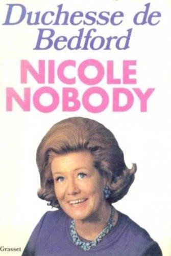 9780491014724: Nicole Nobody