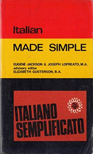 9780491014908: Italian (Made Simple Books)