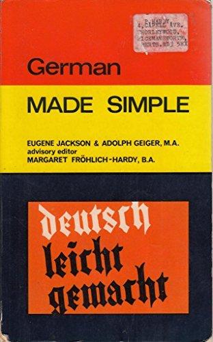 German: Eugene Jackson; Adolph Geiger