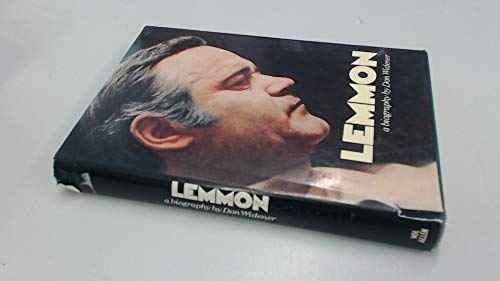 9780491015783: Lemmon: Biography of Jack Lemmon
