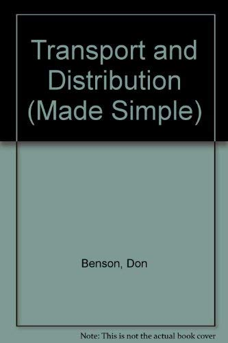 9780491016742: Transport and Distribution (Made Simple)
