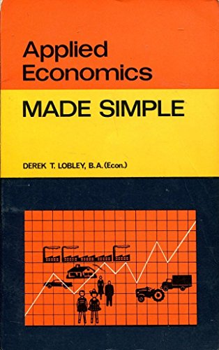 9780491018128: Applied Economics (Made Simple Books)