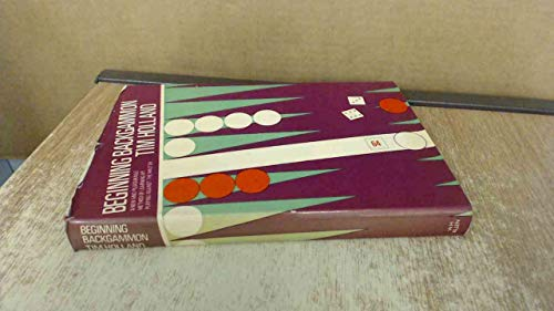 9780491018616: Beginning Backgammon
