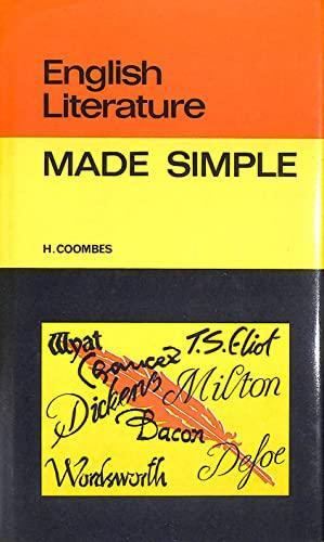 9780491020015: English Literature (Made Simple Books)