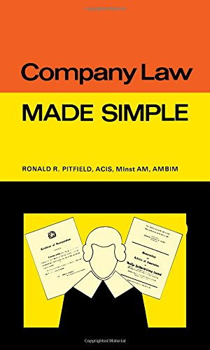 9780491020862: Company Law: Made Simple (Made Simple Books)