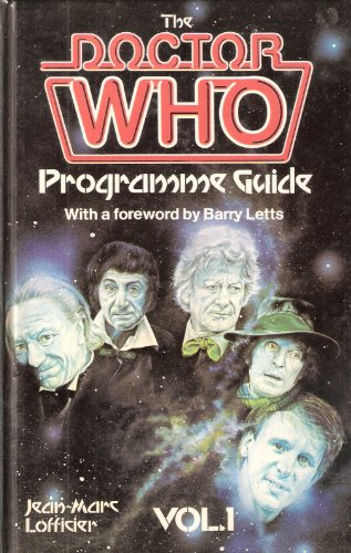 9780491028042: Doctor Who Programme Guide: v. 1