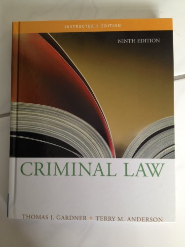 9780495000471: IE Criminal Law 9e