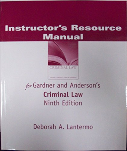 Im/TB Criminal Law 9e