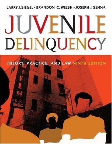 9780495000877: IE Juv Delinquency W/CD 9e