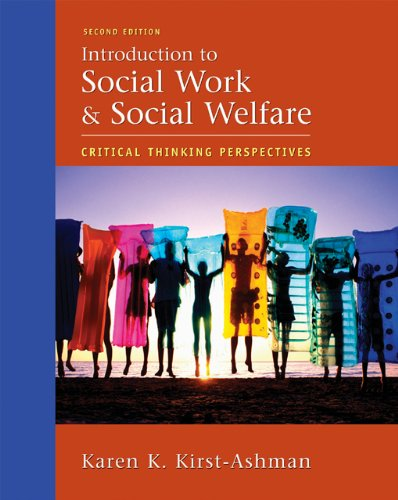 9780495002444: Introduction to Social Work and Social Welfare: Critical Thinking Perspectives