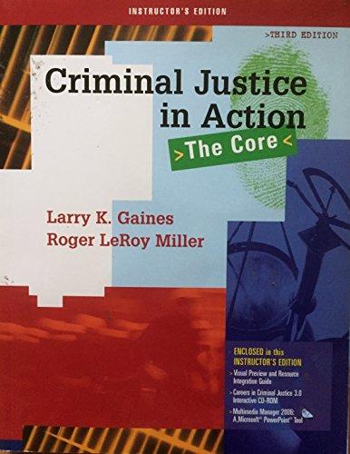 IE Crj Action Core W/CD 3e: MILLER, GAINES