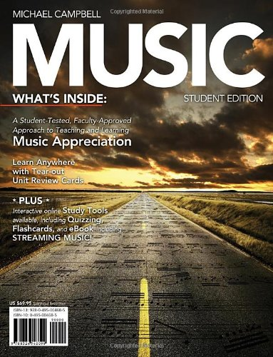 9780495004684: Music (with CourseMate Printed Access Card)