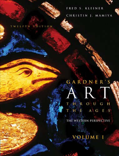 Gardner's Art through the Ages: The Western Perspective, Volume I (with ArtStudy CD-ROM 2.1, Western) (0495004790) by Christin J. Mamiya; Fred S. Kleiner