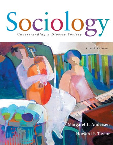 9780495004899: Sociology: Understanding a Diverse Society (with InfoTrac)