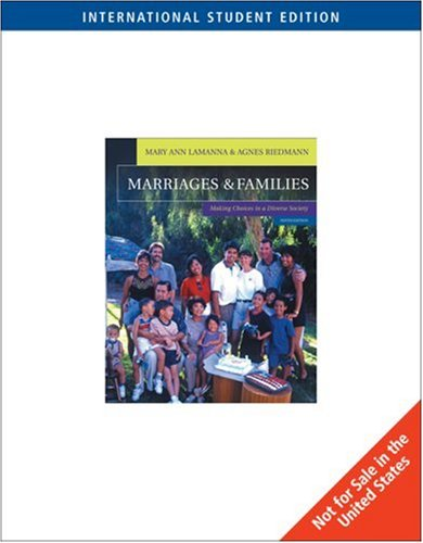 9780495005858: Marriages and Families: Making Choices in a Diverse Society