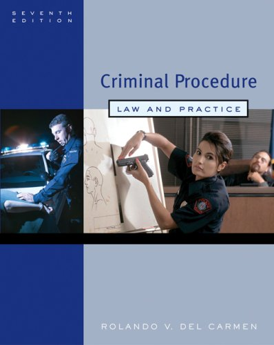 9780495006008: Criminal Procedure: Law and Practice (Seventh Edition)