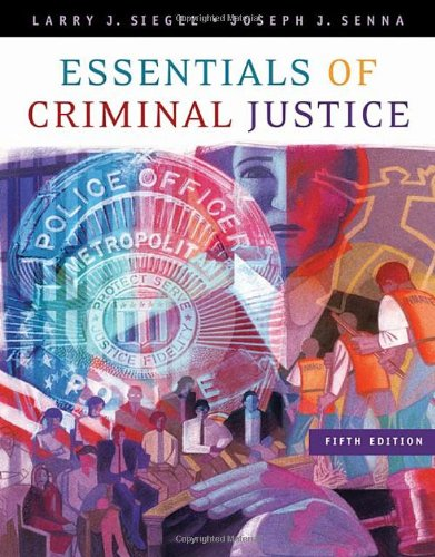 9780495006022: Essentials of Criminal Justice (Available Titles CengageNOW)