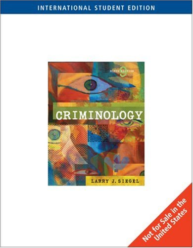 9780495006213: Criminology