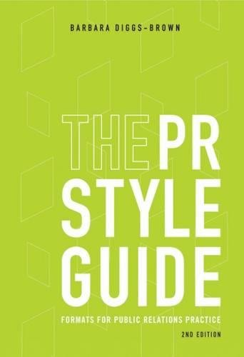 9780495006435: The PR Styleguide: Formats for Public Relations Practice (Wadsworth Series in Mass Communication & Journalism)