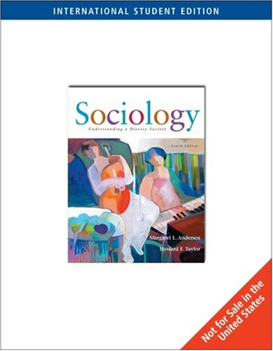 9780495006497: Sociology: Understanding a Diverse Society
