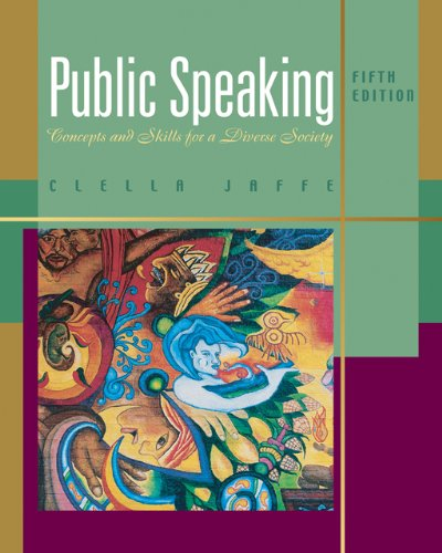 9780495006565: Public Speaking: Concepts and Skills for a Diverse Society (Wadsworth Series in Communication Studies)