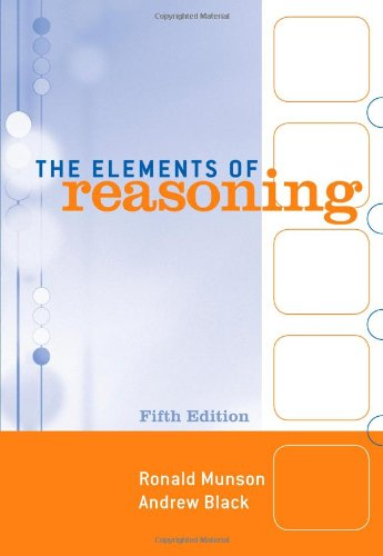 9780495006985: The Elements of Reasoning