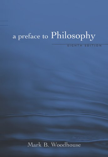 9780495007142: A Preface to Philosophy