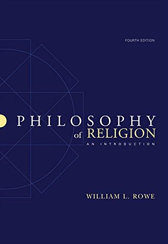 Philosophy of Religion: An Introduction
