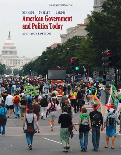 9780495007371: American Government and Politics Today, 2007-2008 (Available Titles CengageNOW)
