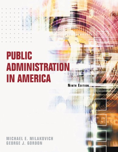 9780495007395: Public Administration in America
