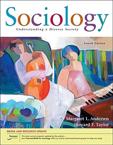 9780495007425: Sociology: Understanding a Diverse Society, Updated (with CengageNOW, InfoTrac 1-Semester Printed Access Card) (Available Titles CengageNOW)