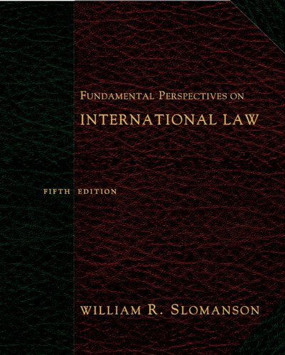 9780495007456: Fundamental Perspectives on International Law