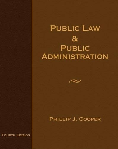 9780495007555: Public Law and Public Administration