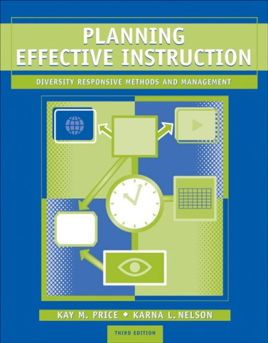9780495007579: Planning Effective Instruction: Diversity Responsive Methods and Management