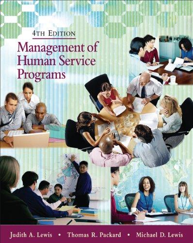 9780495007821: Management of Human Service Programs