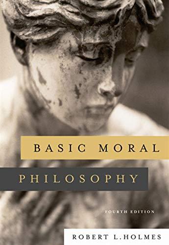 9780495007975: Basic Moral Philosophy