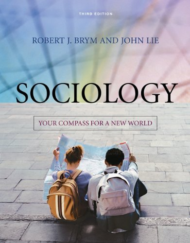 9780495008484: Sociology: Your Compass for a New World